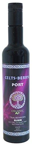 OPC Traubenkernextrakt Elixir BIO - Port 500ml CELTS-BERRY, Flüssig, hohe Bioverfügbarkeit, Vegan,