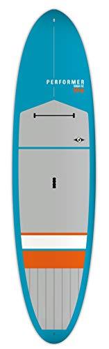 "BIC Sport Tough-TEC Performer SUP Stand Up Paddleboard, Blue/Grey/Orange, 10'6"""