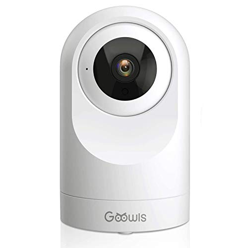 WiFi Camera Indoor, Goowls 1080P HD Pan/Tilt Home Camera Wireless Security