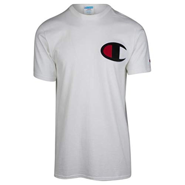 閲覧する黙目立つ(チャンピオン)Champion Big C T-Shirt メンズ Tシャツ [並行輸入品]