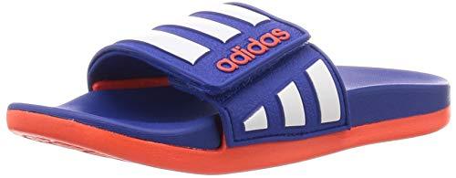 adidas Adilette Comfort Adjustable Flipflop, Royblu Ftwwht Solred, 31 EU