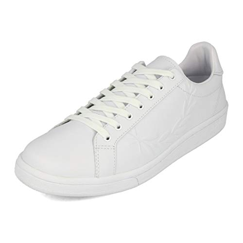 Fred Perry B5150 Sneakers Uomo Bianco 11