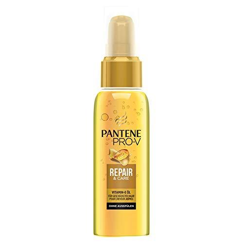Pantene Pro-V Repair & Care Haaröl mit Vitamin-E, für Geschädigtes Haar, Haarpflege Glanz, Haarpflege Trockenes Haar, Haarpflege für Trockene Haare, Haarpflege, Haaröl, Haar Öl, Beauty, Gold, 100 ml