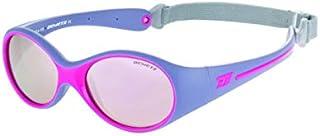 Demetz - Gafas de Sol para bebé, Color Morado Mate, 43/14