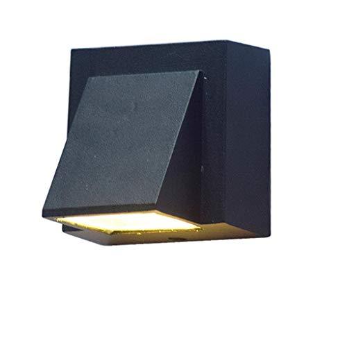 Hai Ying wandlamp, waterdicht, voor buiten, 3 W, wit