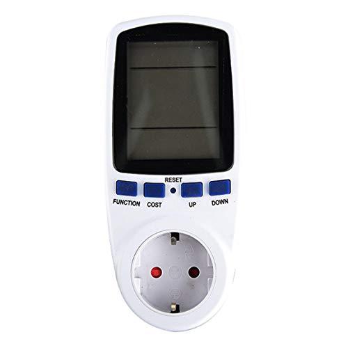 SeniorMar KWE-PMB01 Enchufe Digital Voltaje Wattímetro Consumo de energía Watt Medidor de energía AC Analizador de Electricidad Monitor