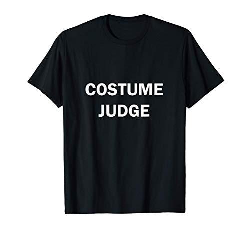 Disfraz Juez Divertido Truco O Trato De Halloween Camiseta