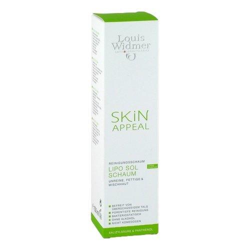 Louis Widmer Skin Appeal Lipo Sol Reinigungsschaum, 150 ml
