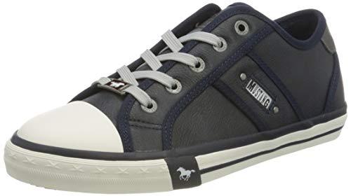 MUSTANG Damen 1209-301 Sneaker, Blau 820 Navy, 39 EU