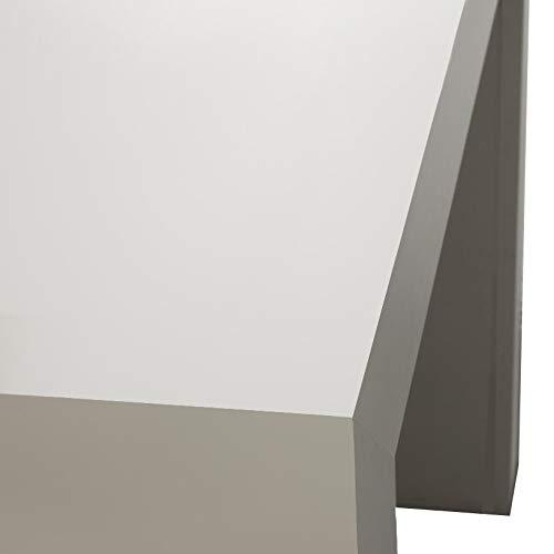 ARREDinITALY Party - CONSOLLE ALLUNGABILE 90 X 45 CM. Diventa Un Solido Tavolo da 3 MT. (12 POSTI)-Non Richiede ASSEMBLAGGIO-Made in Italy (Bianco)