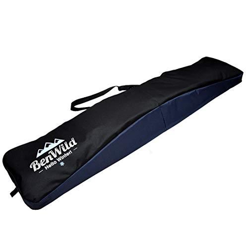 Rawstyle Snowboard Tasche, Boardbag, Snowboardbag, 170cm, XXL (schwarz-Marine)