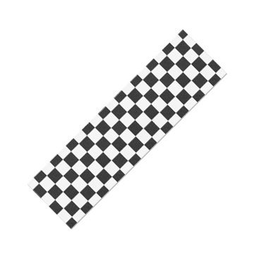 "9"" x 33"" Skateboard Griptape/Grip Tape 1 sheet, Checker"