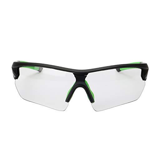 SAVADECK Gafas de Sol Polarizadas para Bicicleta UV400 Gafas de Sol Protectoras para Ciclismo con 2 Intercambiables Lentes de repuesto (Verde)