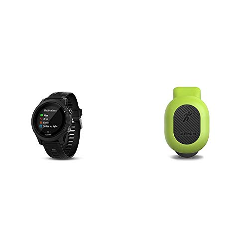 Garmin Forerunner 935 Running GPS Unit (Black) and Running Dynamics Pod Bundle