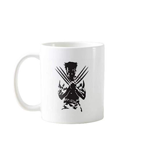 N\A azas de café portátiles Premium Divertidas - Lobezno - Regalo Ideal para Hombres, Mujeres, mamá, papá, Maestro, Hermano o Hermana # 2108