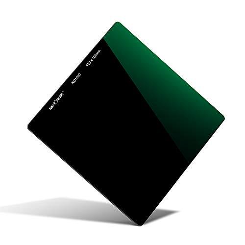 K&F Concept Rechteckfilter Optisches Glas Filterset Square Quadratische Filter ND1000 Graufilter 100x100mm