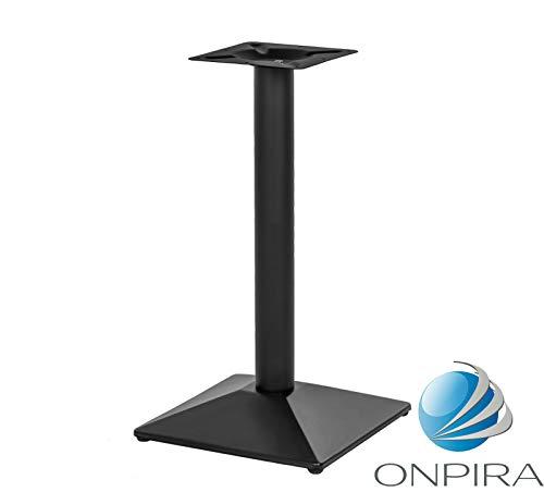 Tischgestell schwarz Höhe 72cm pulverbeschichtetet inkl. Bodenausgleichsschrauben