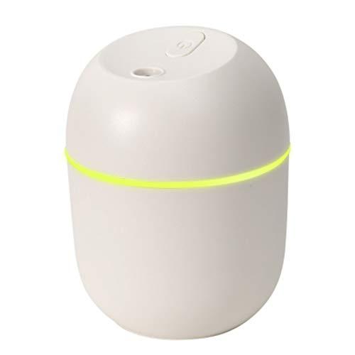 Humidificador de aire ultrasónico portátil, difusor de aceite esencial de aroma de 220 ml, humidificador de niebla USB, humidificadores de aromaterapia para el hogar, la oficina,la habitación del bebé