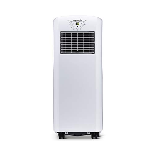 NewAir AC-10100E, Ultra-Compact Portable Air Conditioner, 12 Hour Programmable Timer, 10,000 BTU, 325 Square Foot Effective Range
