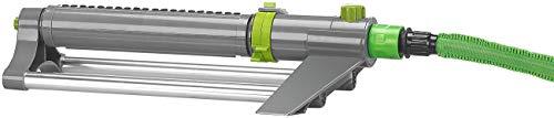 Royal Gardineer Rechteckregner: Oszillierender Viereckregner mit Schmutzsieb, bis 300 m² bei 4 bar (Gartensprinkler)