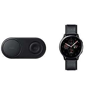 Samsung Original Wireless Fast Charger Duo Pad & Galaxy Watch Active2 44mm Black (B089BKY9N7)   Amazon price tracker / tracking, Amazon price history charts, Amazon price watches, Amazon price drop alerts