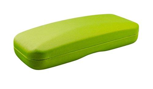 Custodia per Occhiali Monocolore o Bicolore - Disponibile in Diversi Colori (Verde)