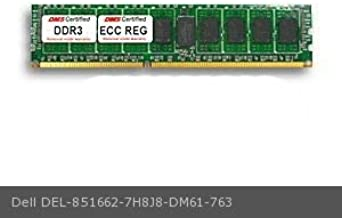 DMS Compatible/Replacement for Dell 7H8J8 PowerEdge T310 4GB DMS Certified Memory DDR3-1333 (PC3-10600) 512x72 CL9 1.5v 240 Pin ECC Registered DIMM - DMS