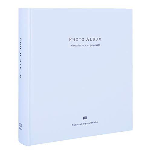 Deli Photo Album 200 Pockets Hold 4x6 Photos, Extra Large Capacity Family...