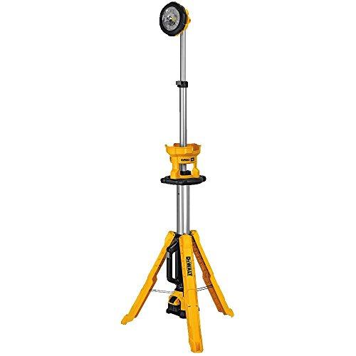 DEWALT 20V MAX LED Work Light, Tripod Base (DCL079R1)