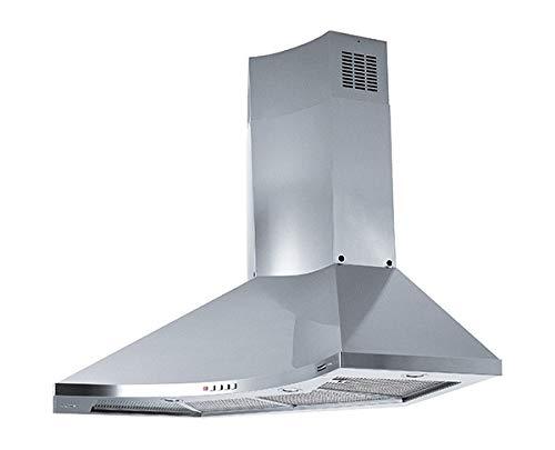 Franke - Hotte d'angle FDPA 904 XS LED finition inox satiné de 90 x 90 cm.