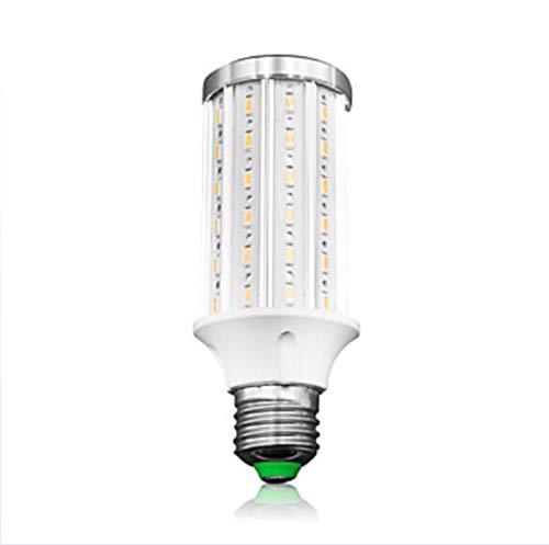Lampadine a LED E27, Luce a LED a mais 20W AC85-265V 72 LED SMD5730 Lampada a LED 2000LM Bianco/Bianco caldo,Warmwhite