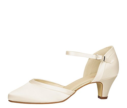 Rainbow Club Damen Letty Pumpe, Ivory Creme