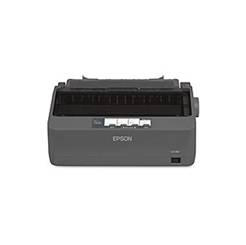 Epson LX-350 - Impresora matriz de puntos (monocromo de 9 pines, 80 columnas, 357 overol, USB),...