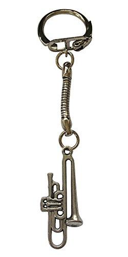 Schlüsselanhänger mit Musikinstrument, Trompete