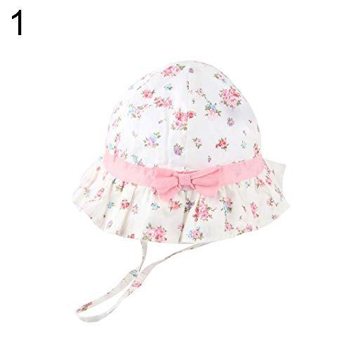 Alsu3luy02Ld Bonnet en coton pour enfant Motif fraises Taille M 1
