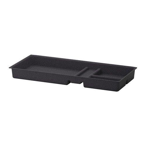 ZigZag Trading Ltd IKEA Eket–Inserto de cajón, Color Gris Oscuro