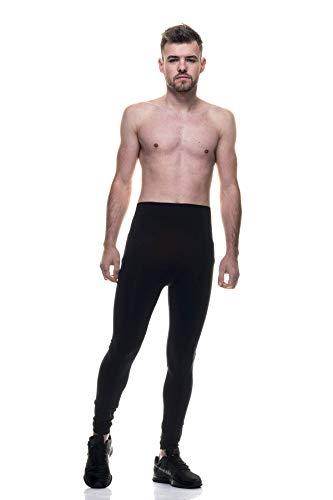 LIPOTHERM Malla pantalón Hombre Adelgazante Fibra Emana Color Negro Varias Tallas Fabricado en España