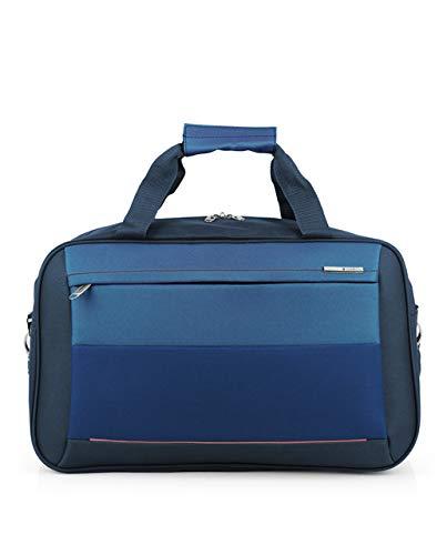 Gabol - Reims | Bolso de Viaje Grande de Tela de 50 x 30 x 27 cm con Capacidad para 33 L de Color Azul