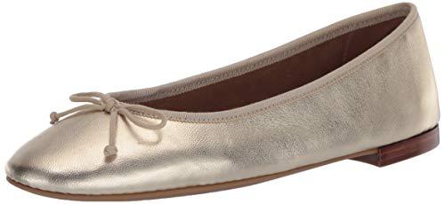 Aerosoles Women's Ballet Flat, Gold Metallic, 10.5 C - Wide