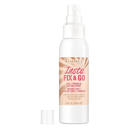 Rimmel London Insta Fix & Go Setting Spray, 100ml