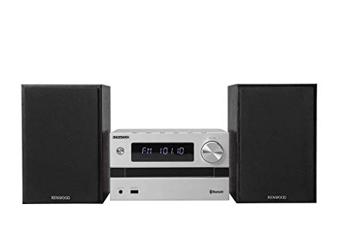 Kenwood M-718BT - Sistema Micro Hi-Fi (UKW, CD, USB, Bluetooth Audio Streaming, Line-In)