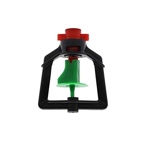 Rociador de Agua Boquilla giratoria de 360 Grados Invernadero agrícola Invernadero de suspensión Invertida Cabezal de rociado Rociador de riego de jardín Niebla de Agua 20 Piezas (Color: Boquilla