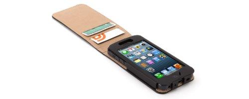 Griffin GB36018 Flip Case - Functional - Midtown - Apple iPhone 5 / 5S / 5SE - zwart
