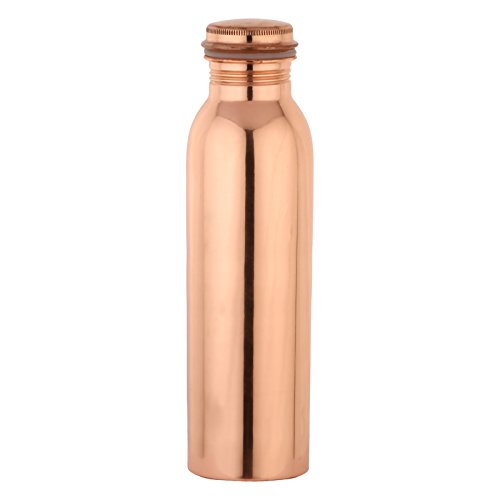 Zap Impex Pure Copper Water Bottle For Ayurvedic Health Benefits Joint Leak