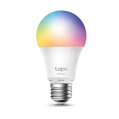 TP-Link Ampoule Connectée, Ampoule LED Tapo L530E Multi-color E27, compatible avec Alexa et Google Home, Lampe Intelligente WiFi Configure rapidement, Contrôle à distance par smartphone, 8.7 W