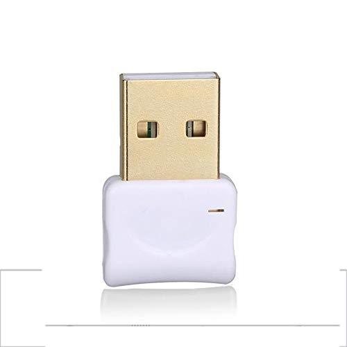HOTSO - Adaptador USB Bluetooth 4.0 Mini receptor Transmisor USB Dongle 20 m de distancia Convertidor Eficiente Compatible con Auriculares Impresora Ratón Teclado Laptop PC para Window7/8/Vista/XP