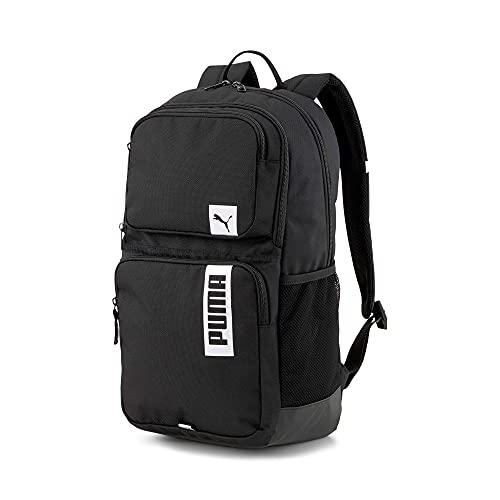 PUMHB|#Puma Deck Backpack II, Zaino Unisex – Adulto, Puma Black, Taglia unica