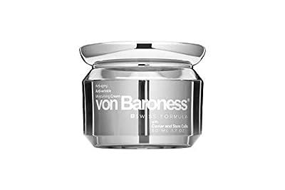 Von Baroness Anti Aging, Anti Wrinkle Moisturising Skincare Face Cream With Caviar Extract, Sweet Iris Stem Cells (50ml/1.70 Oz), Day / Night Face Cream for Men, Women | Swiss Formula from Von Baroness