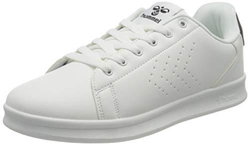 hummel Unisex-Erwachsene BUSAN Sneaker, White/Black,42 EU