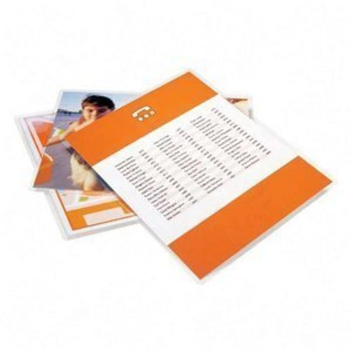 (Ship From USA) Letter Size Laminating Pouches - 3mil / Mil Thickness: 3 Mil,Size: 8.75' x 11.25',Clear glossy finish with standard 1/8' radius rounded corners,100/box includes silicone coated lamina